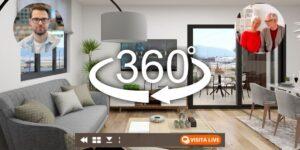 Visitas virtuales 3D para inmobiliarias
